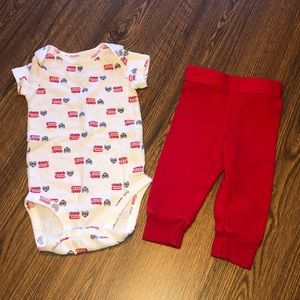 6 Month Baby Boys Outfit